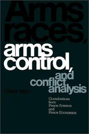 Arms races, arms control, and conflict analysis PDF