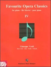 Favourite Opera Classics IV PDF
