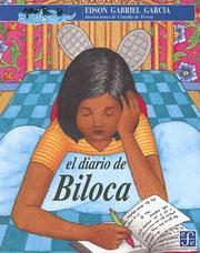 Cover of: El Diario De Biloca by Edson Gabriel Garcia, Edson Gabriel Garcia, Fatima Andreu