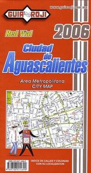 Cover of: Ciudad de Aguascalientes  (City Plan) by Guia Roji by Guia Roji