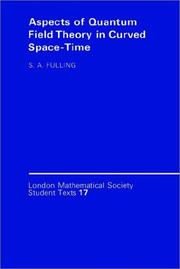 Aspects of quantum field theory in curved space-time PDF
