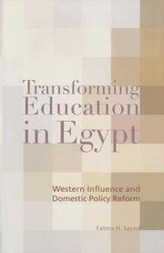 Transforming Education In Egypt by Fatma H. Sayed