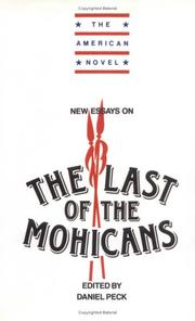 New essays on The last of the Mohicans by
