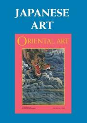 Japanese Art (Oriental Art Collected Articles series) PDF
