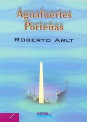 Cover of: Aguafuertes Portenas by Roberto Arlt