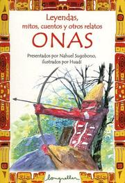 Cover of: Onas by Nahuel Sugobono