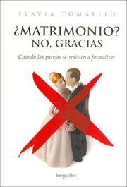 Matrimonio? No, Gracias / Marriage? No, Thanks PDF