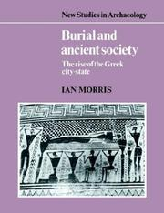 Burial and Ancient Society by Ian Morris