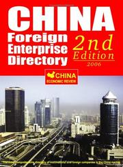 China Foreign Enterprise Directory 2nd Edition - 2006