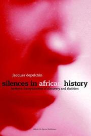 Silences in African History by Jacques Depelchin