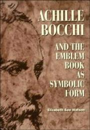 Achille Bocchi and the Emblem Book as Symbolic Form PDF