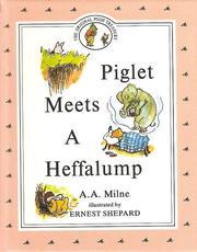 Piglet Meets a Heffalump PDF
