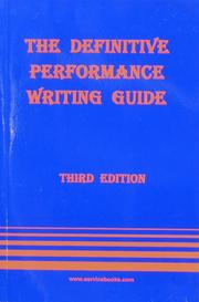 The Definitive Performance Writing Guide PDF