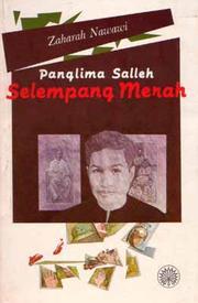 Cover of: Panglima Salleh, Selempang Merah by Zaharah Nawawi.