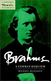 Brahms, A German requiem PDF