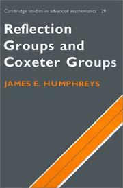 Reflection groups and coxeter groups PDF