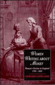 Women writing about money by Edward M. Copeland