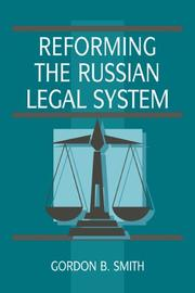 Reforming the Russian legal system PDF