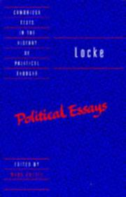 Locke by John Locke