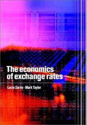 Cover of: The Economics of Exchange Rates by