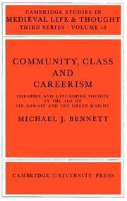 Community, Class, and Careerism PDF