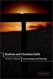 Realism and Christian Faith PDF