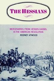 The Hessians by Rodney Atwood