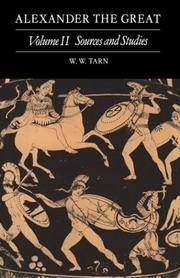 Alexander the Great by W. W. Tarn