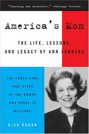 America's Mom by Rick Kogan