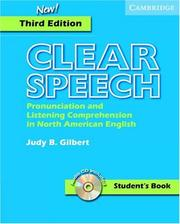 Clear speech by Judy B. Gilbert