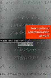 Inter-cultural Communication at Work PDF