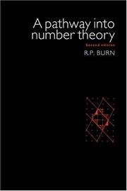A pathway into number theory PDF
