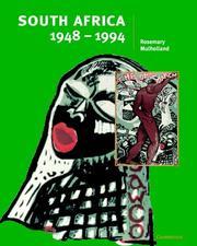 South Africa 19481994 PDF