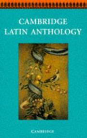 Cambridge Latin Anthology PDF