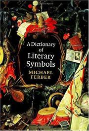 A dictionary of literary symbols PDF