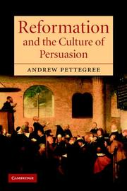 Reformation and the Culture of Persuasion PDF