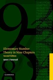 Elementary Number Theory in Nine Chapters PDF