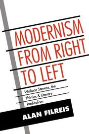 Modernism from Right to Left by Alan Filreis