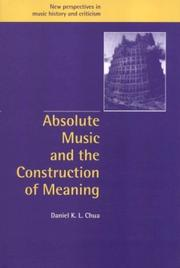 Absolute music and the construction of meaning PDF