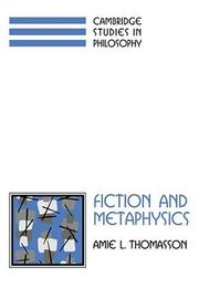 Fiction and metaphysics by Amie L. Thomasson