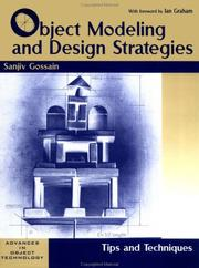 Object modeling and design strategies PDF