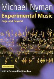 Experimental music PDF