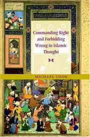 Commanding Right and Forbidding Wrong in Islamic Thought PDF