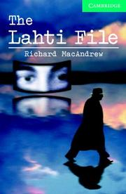 The Lahti File Book and Audio CD Pack PDF