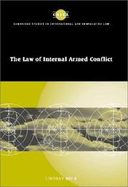 The law of internal armed conflict PDF