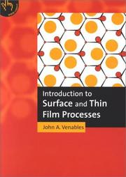 Introduction to Surface and Thin Film Processes PDF