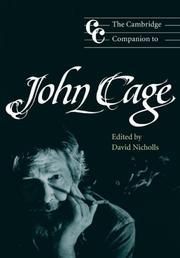 The Cambridge Companion to John Cage PDF