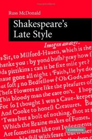 Shakespeare's Late Style PDF