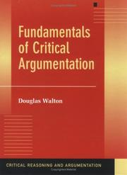 Fundamentals of critical argumentation PDF