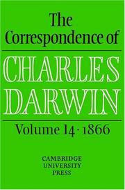 The Correspondence of Charles Darwin by Charles Darwin